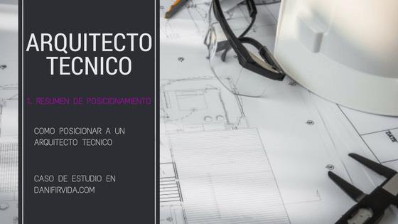 posicionar arquitecto técnico en Terrassa