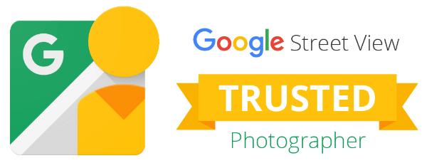 insignia fotógrafo de confianza de Google